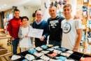 Recollim la iniciativa solidària de tres estrelles del Girona FC