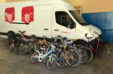 Els alumnes de la Salle de Girona entreguen 14 bicicletes a Ecosol