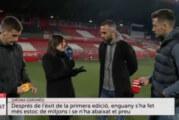 Continua la difusió dels mitjons solidaris dels futbolistes del Girona FC