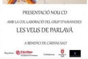 """Concert solidari a Salt de """"Les veus de Parlavà"""""""