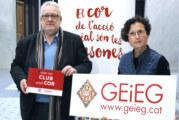 El GEIEG renova el seu conveni amb Càritas