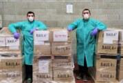 BAULA dóna a Càritas 18.000 kits de productes de neteja ecològic