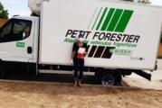 PETIT FORESTIER cedeix una furgoneta frigorífica per transport de productes frescs i congelats