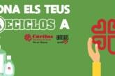 RECICLOS col·labora amb Càritas amb una donació econòmica